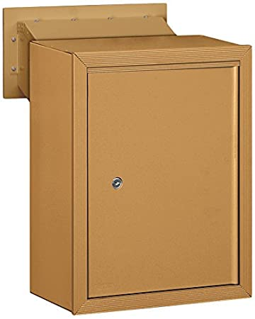 Salsbury Industries 2256SAN Receptacle Option for Mail Drop Sandstone