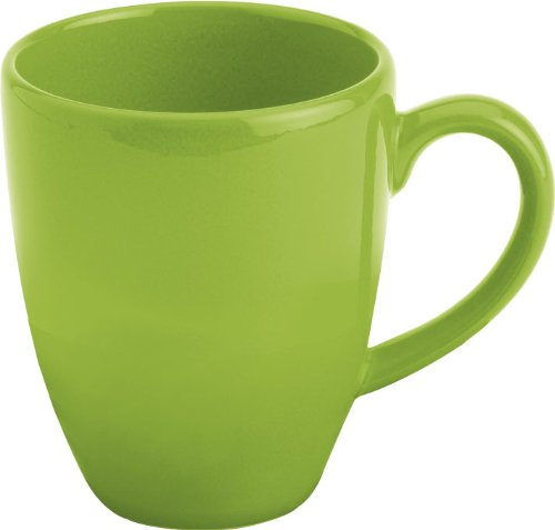 Waechtersbach Fun Factory II Green Apple Jumbo Cafelatte Mugs, Set of 4 ()