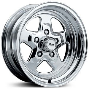 Pacer 521P DRAGSTAR Wheel with Polished Finish (15x7