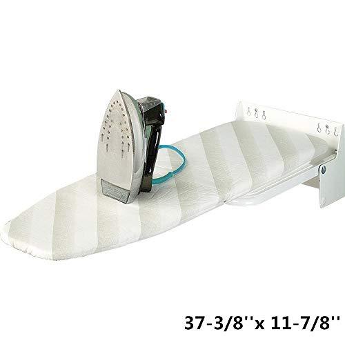 (uyoyous Wall-Mounted Ironing Board,Superior Essentials,Easy Installation & Folding Ironing Board)