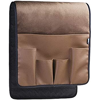 BCP Brown Color Velvet Sofa Couch Chair Armrest Soft Caddy Organizer Holder for Remote Control Cell Phone Book Pencil  sc 1 st  Amazon.com & Amazon.com: Sofa Couch Remote Control Holder- Chair Armrest Caddy ...