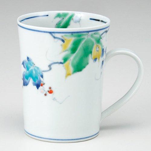 KUTANI YAKI(ware) Coffee Mug Wild Vine by Kutani