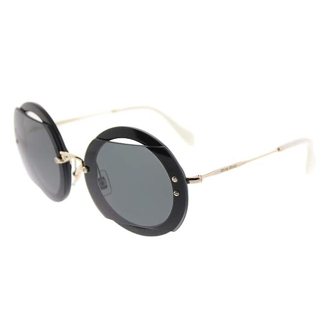Amazon.com: Miu Miu Reveal de la mujer anteojos de sol ...