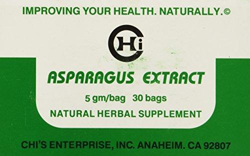 Asparagus Extract Tea by Chis Enterprise 5 gm per bag, 30 bags