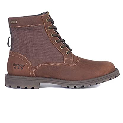 Barbour Mens Cheviot Derby Boot Leather Waterproof Walking Comfort Boot 4