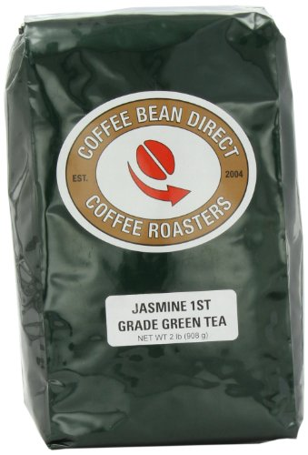 Coffee Bean Direct Jasmine Tea, 1St Grade, loose-tea-format, 2 Pound Bag