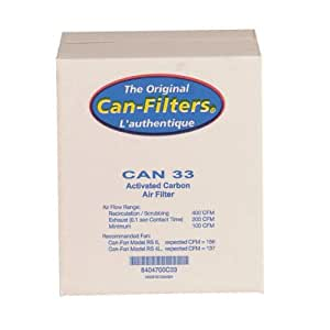 Can 33 Carbon Filter With Prefilter, Flange Sold Separately