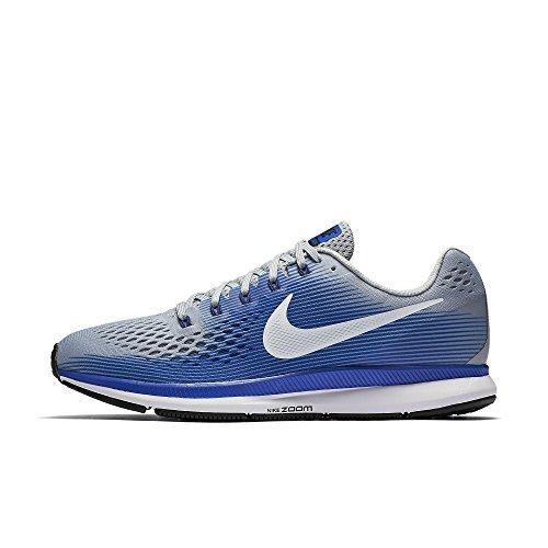 Nike Men's Air Zoom Pegasus 34 Running Shoe Wolf Grey/Whi...