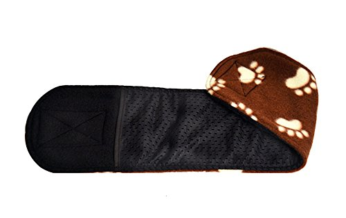 Picture of Cuddle Bands Male Dog Belly Band for Housetraining and Incontinence - Washable and Reusable Dog Diaper (Paw Print Medium: 17-19
