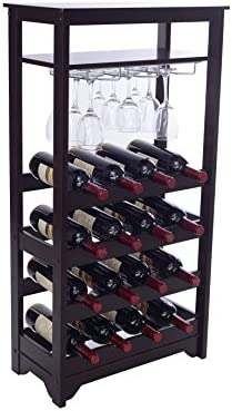 Merry Products 16-Bottle Wine Rack