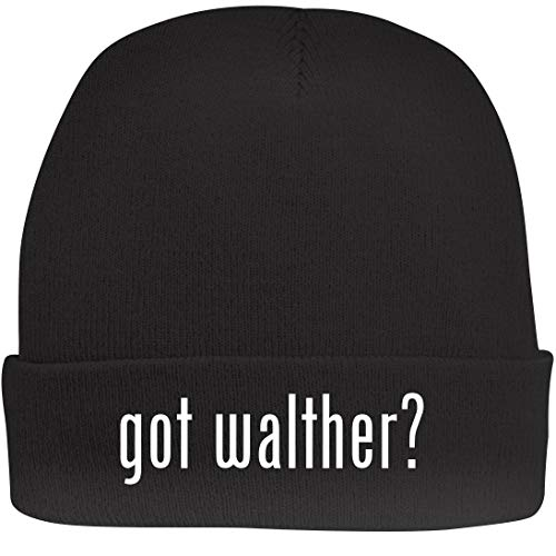 (Shirt Me Up got Walther? - A Nice Beanie Cap, Black, OSFA)