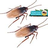 Robo Alive Scuttling Lifelike Cockroach 2 Pack by ZURU