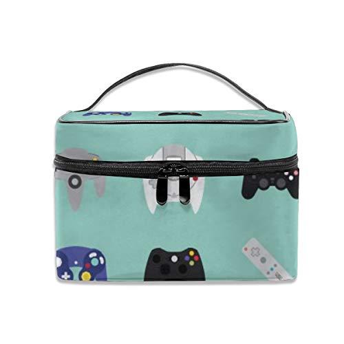 Console evolution Makeup Bag Portable Travel Cosmetic Bag Organizer Zipper Toiletry Bag for Woman (Evolution Console)