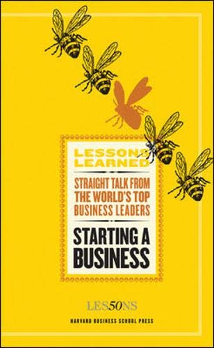 Starting a Business (Lessons Learned) ()