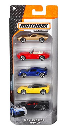Matchbox 5-Pack Assortment (styles may vary)