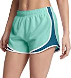 Nike Women's 3'' Dry Tempo Running Shorts (Igloo/Blue Force/W/Wg/Small)