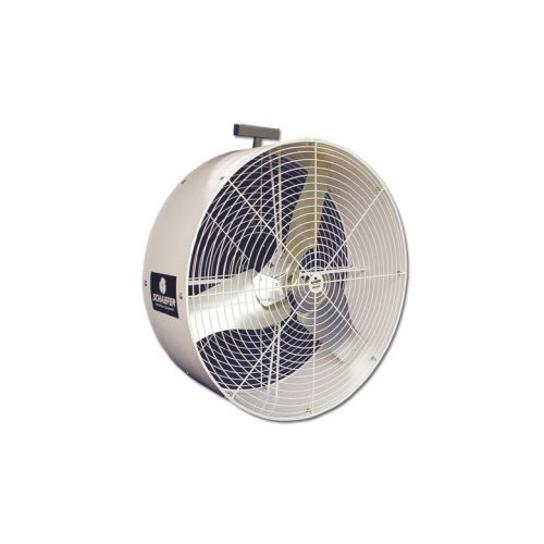 SCHAEFER VK36-OSHA VersaKool Circulation Fan, Yoke Mount, OSHA Guards, Blade Material: Galvanized Steel, 1/2 hp, 36''