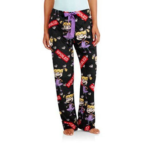 Nickelodeon Rugrats Women's Plush Sleep Pajama Lounge Pants (L (12-14))