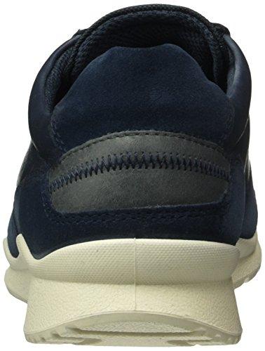 Moon Derby Mujer Azul Marine Rock Zapatos de Ecco para 50017 Mobile III Cordones w1A6XxnSPq