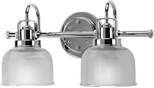 Luxury Industrial Chic Bathroom Vanity Light, Medium Size: 8.75