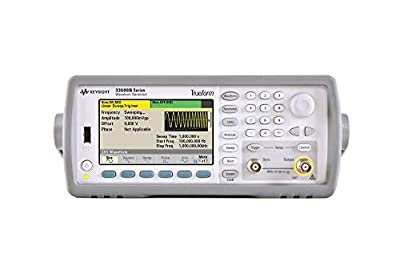KEYSIGHT 33521B Waveform Generator, 30 MHz, 1-Channel with Arb (Certified Refurbished)