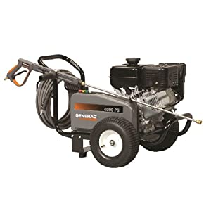 Generac 6229 3,500-PSI 3.7-GPM Gas-Powered Contractor Power Washer