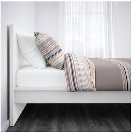 Ikea 18210.142914.202 - Marco de Cama Doble, Color Blanco ...