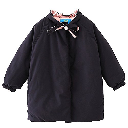 Infant Baby Mobile Shower (Y·J Back home Black Puffer Jacket For Girls,Little Girls Baby Puffer Jacket Cozy Coat Winter Warm up Outerwear(2-7 Years),6/7T,Black)