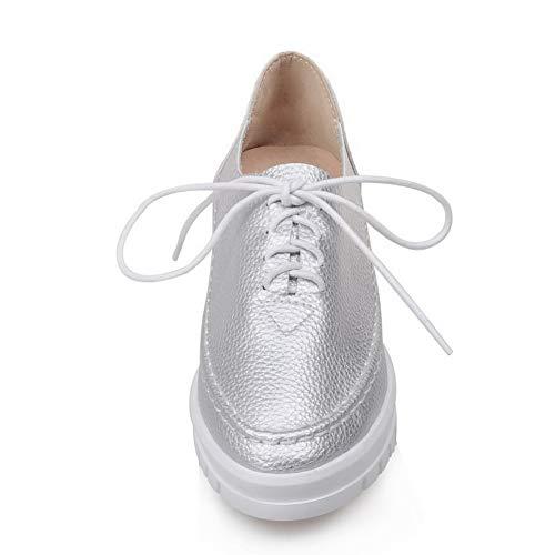 Compensées Femme 5 APL10422 Silver Argenté 36 Sandales EU BalaMasa w46ZEqnfE