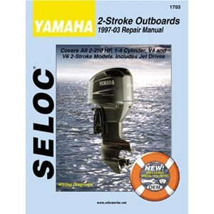 YAMAHA Repair Manual, ALL 2 Stroke Engines, 1997 to 2003 (1997 Outboard Repair Manual)