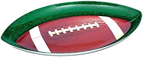 Football Shaped Decor Football Serving Tray with Handles Football Serving Tray Rustic Football is My Favorite Season Serving Tray