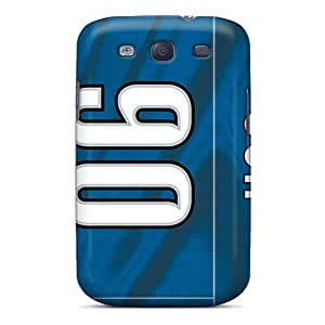 Samsung Galaxy S3 XGH18178NQYE Support Personal Customs Lifelike Detroit Lions Skin Excellent Hard Phone Case -JasonPelletier hjbrhga1544