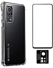 Capa Anti Quedas Xiaomi Mi 10T + Película Vidro 3D Full + Película Câmera Nano [Coronitas Acessorios]
