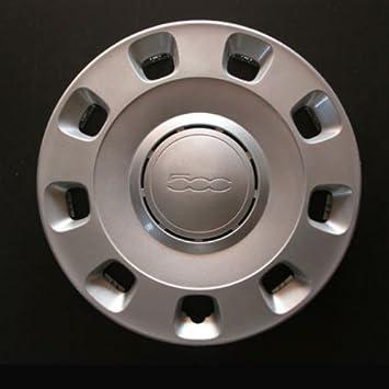 Wheeltrims Juego de 4 embellecedores para Fiat 500 con Llantas de 14