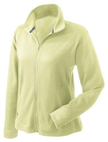 Price comparison product image Devon & Jones Sport Women's Interlock Full Zip Fleece Jacket, S, Spring Grass