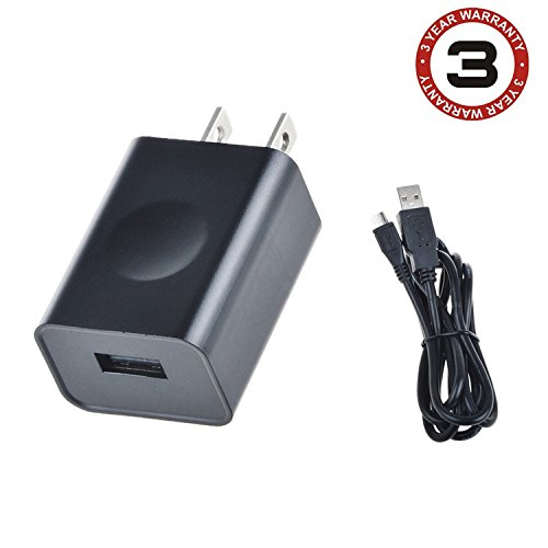SLLEA AC Power Charger Adapter + USB Cord For RCA Pro 10 II RCT6203W46 KC  Tablet