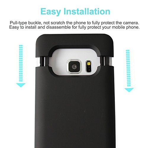 Galaxy S7 Battery case Roger New Arrival 4200mAh especially thin Rechargeable Extended Battery Charging case forSamsung Galaxy S7 Backup External Battery Charger case portable Backup power Bank case with the help of Kickstand Black Cases