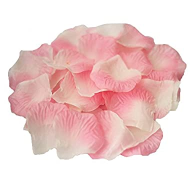 JUYO VONSAN® 1000pc Silk Rose Petals Wedding Flowers Favors for you special wedding with gift box