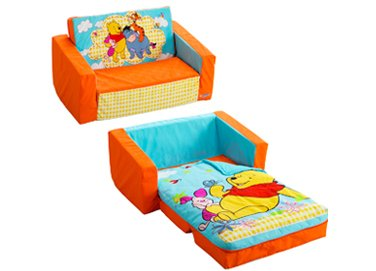 Superbe Winnie The Pooh Flip Open Sofa With Slumber