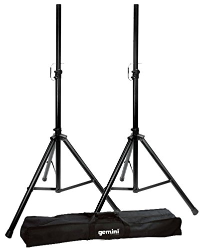Gemini DJ ST-PACK Dual Speaker Stands with Carry Case
