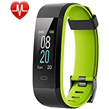 Willful Fitness Tracker,Heart Rate Monitor Watch Fitness Watch Pedometer with Step Counter Sleep Monitor 14 Sports Tracking Color Screen IP68 Waterproof Call SMS SNS Display for Women Men Kids