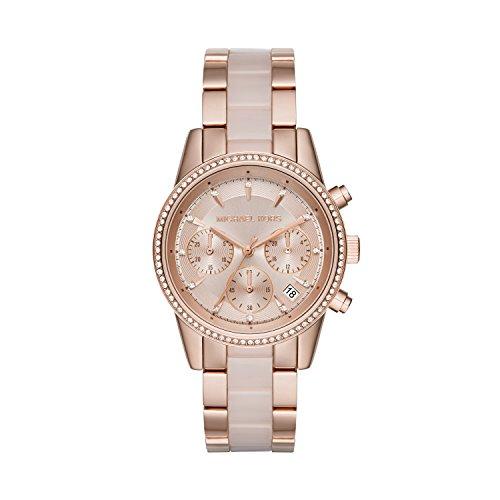 Chronograph Ceramic Bracelet Watch - 7