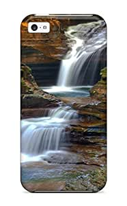 Pamela Diy Aarooyner case cover Protector Specially Made For Iphone 5c Watkin Glens State gaSmBBI6G5P Parkny Earth Waterfall Nature Waterfall