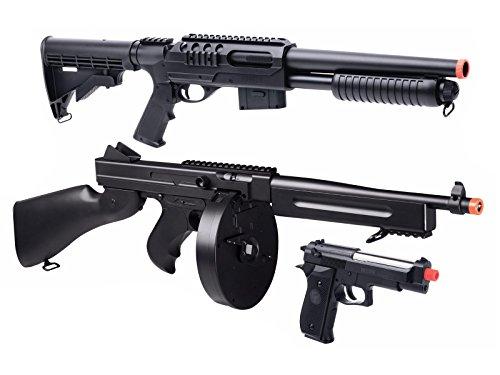Game Face Triple Threat Airsoft Kit airsoft gun