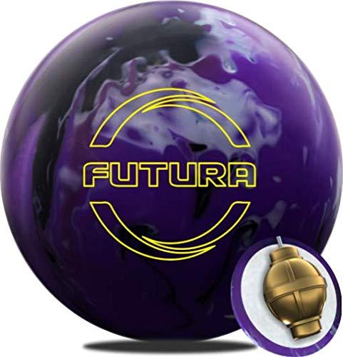 Ebonite Futura Bowling Ball- Purple/Black/Silver 15lbs