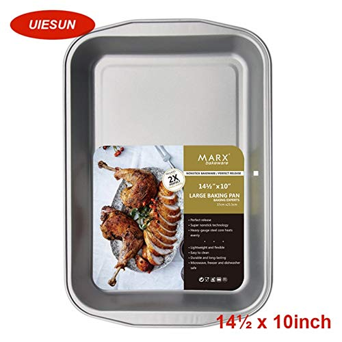 - 1 piece XXL 14.5 inch multi pizza and cake pan 100% heavy carbon non-stick baking tool cake moulds bread pan metal loaf pans HF013