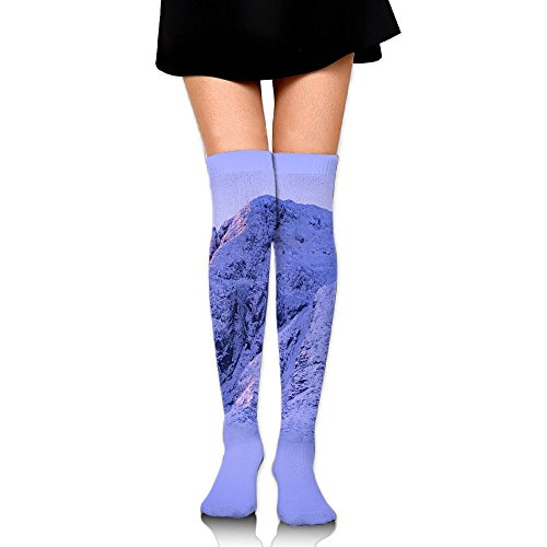 Mount Everest Snow Cotton Compression Socks For Women. Graduated Stockings For Nurses, Maternity, Travel, Flight, Pregnancy, Varicose Veins,Running & Fitness, Calf Support.