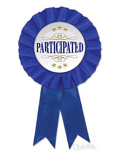 Archie McPhee Participation Award Ribbon
