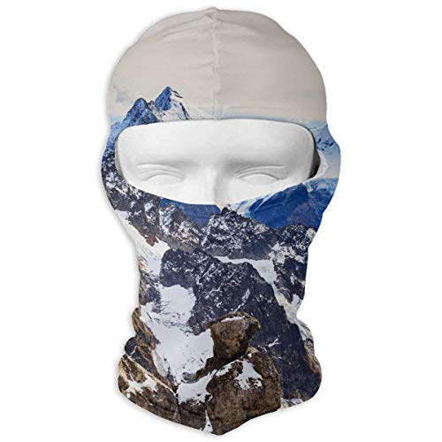 - Balaclava Swiss Alps Full Face Masks UV Protection Ski Cap Womens Neck Warmer for Hiking