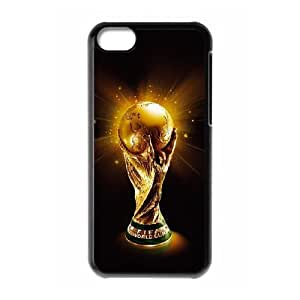 iPhone 5C Cell Phone Case , World Cup Theme Custom Phone Case